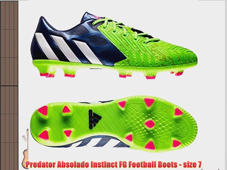 adidas Predator LZ Absolion Instinct FG BlackRunning WhiteInfrared