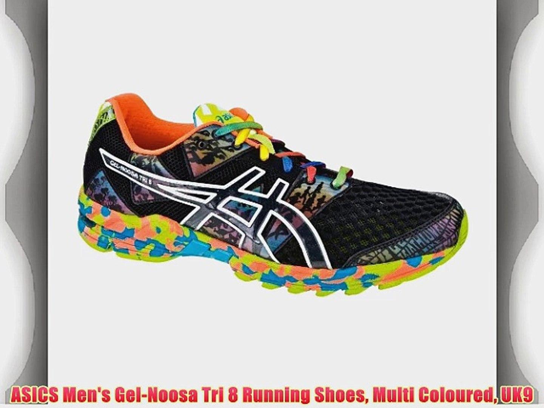 2018 sneakers buy best temperament shoes ASICS Men's Gel-Noosa Tri 8 Running Shoes Multi Coloured UK9 ...