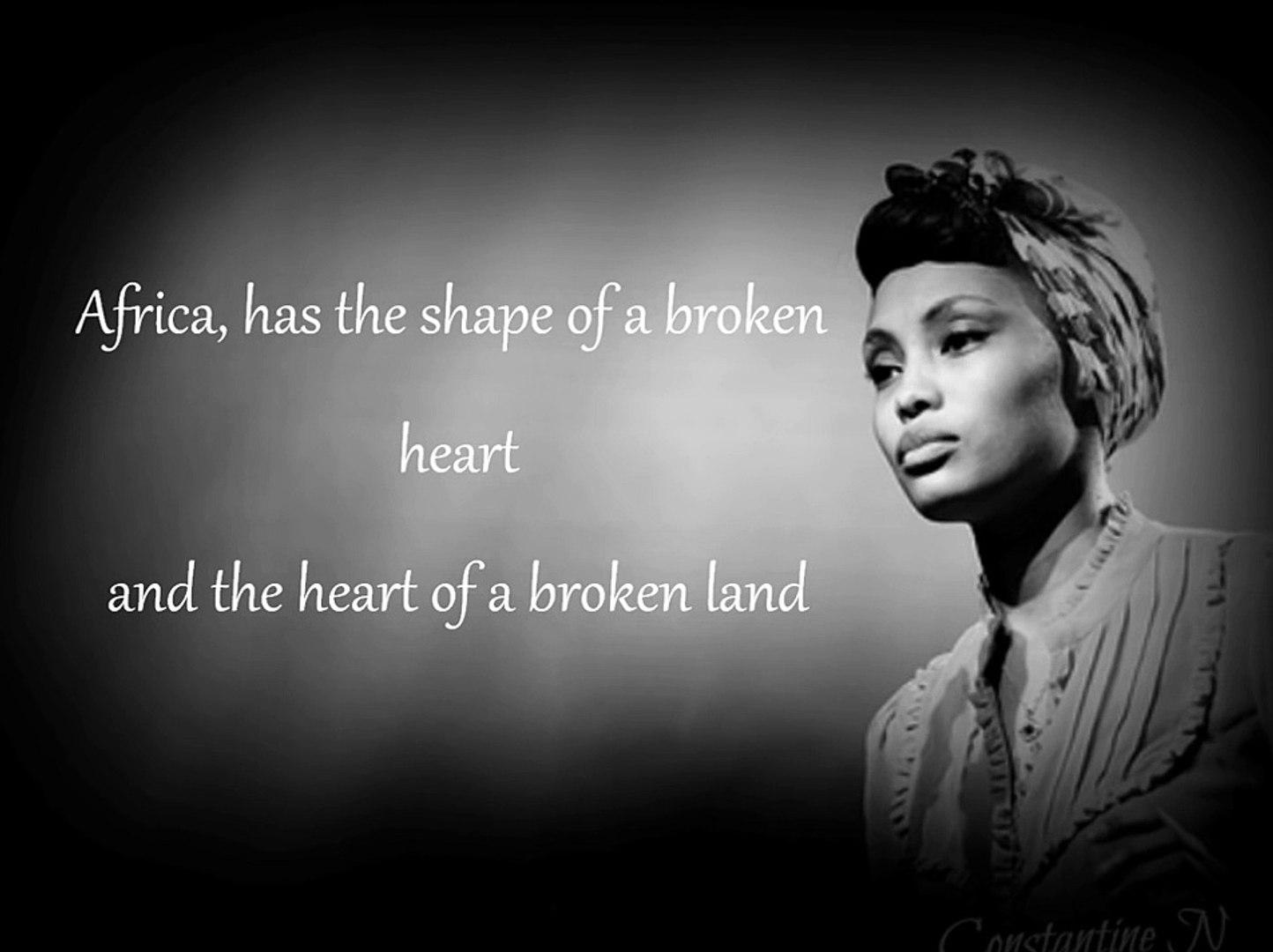 Shape Of A Broken Heart - Imany (Lyrics) - video dailymotion