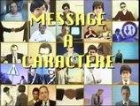 Message à Caractère Informatif- Gastro