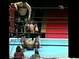 Junji Hirata & The Sledge Hammer vs. Yutaka Yoshie & Kenzo Suzuki (NJPW)