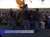 Balloon Fiesta 2007 - Gas Balloon Launch | The Albuquerque International Balloon Fiesta