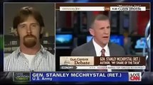 Former marine Joshua Boston shows Alex Jones how to debate Piers Morgan on gun control
