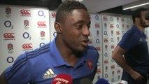 Rugby - XV de France - Angleterre-France : Nyanga «C'est rageant»