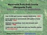 """""""Marquette Park Golf Course (Marquette Park) """" Flyover Tour"""