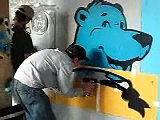 upfest 08 - how to do stencil graffity III