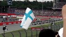 F1 German GP 2014 Start + Massa Crash [HD]