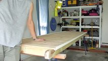 Building a Home Made Micro Floating Dock Jetty Pontoon