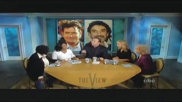 Alex Jones - The View -  ABC News - Charlie Sheen Debate