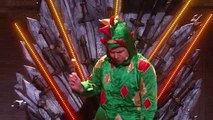 Piff The Magic Dragon Howie Mandels Dangerous Game With Magician Americas Got Talent 2015
