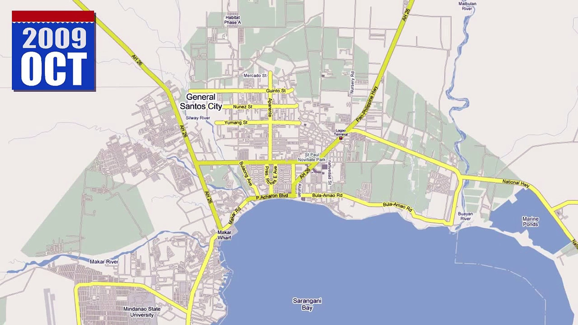 General Santos City, Philippines - Google Map Maker Time ...