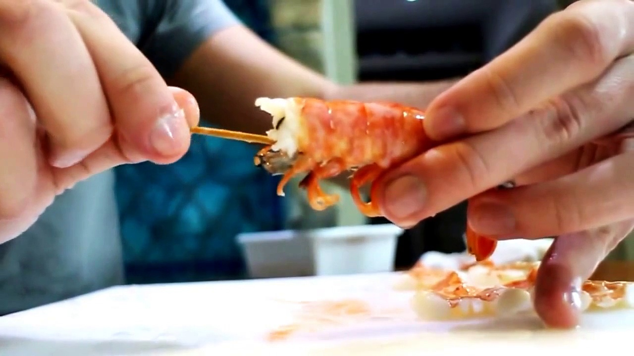 [How To Make] Shrimp Nigiri Sushi How to Make Shrimp Nigiri Sushi