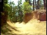 Yamaha raptor 660 r  crazy trail ride onboard cam