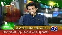 Geo News Headlines 15 August 2015_ Youm e Azadi Ceremony At Mazar e Quaid Karach