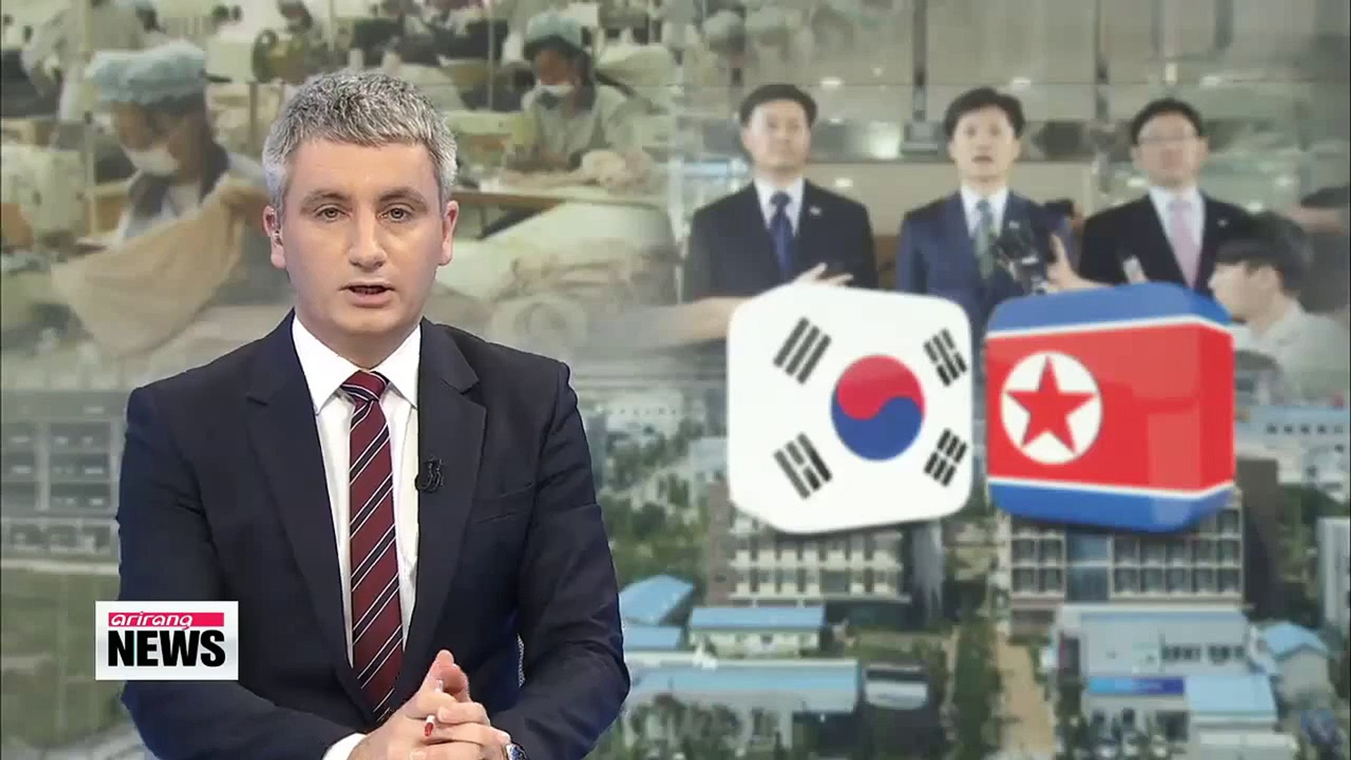 Koreas hold talks on joint industrial park amid wage row   개성공단 남북공동위 1년1개월만에 개최