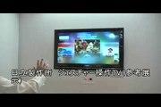 【CEATEC JAPAN 2008】HITACHI Gesture operation TV
