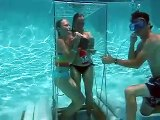 Underwater lunch , Orange Park, Jacksonville, Pool party idea,  fun pool toy, fun pool game.