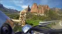 Road trip moto Pyrénées - Espagne