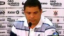 Conferencia de Prensa despedida de Ronaldo el fenómeno