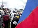 Himno Nacional de Colombia - Marcha Contra el Secuestro