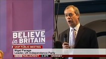 Tony Blair can go to Hell! Nigel Farage at his best