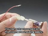 Crimp Pin EXTRACTOR remover TOOL for Molex, JST, HRS, AMP TYCO Wurth etc crimped pins