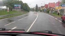 Povodně 2013 - Výjezd JSDH Chrudim na TP do města Chrudim/ VFD Chrudim responding