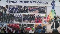 Fidak 2014 : Stand de la Gendarmerie , une attraction des visiteurs à la 23 ème édition