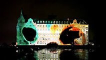 """Video Mapping Monolithic Laser Show """"YEKPARE"""" on Haydarpasa Train Station istanbul (part 2)"""
