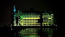 """Video Mapping Monolithic Laser Show """"YEKPARE"""" on Haydarpaşa Train Station istanbul (part I)"""