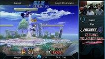 Shatter II Project M 3.6 - Ginger (Falco/Kirby) vs. GLS | Tap (Yoshi)