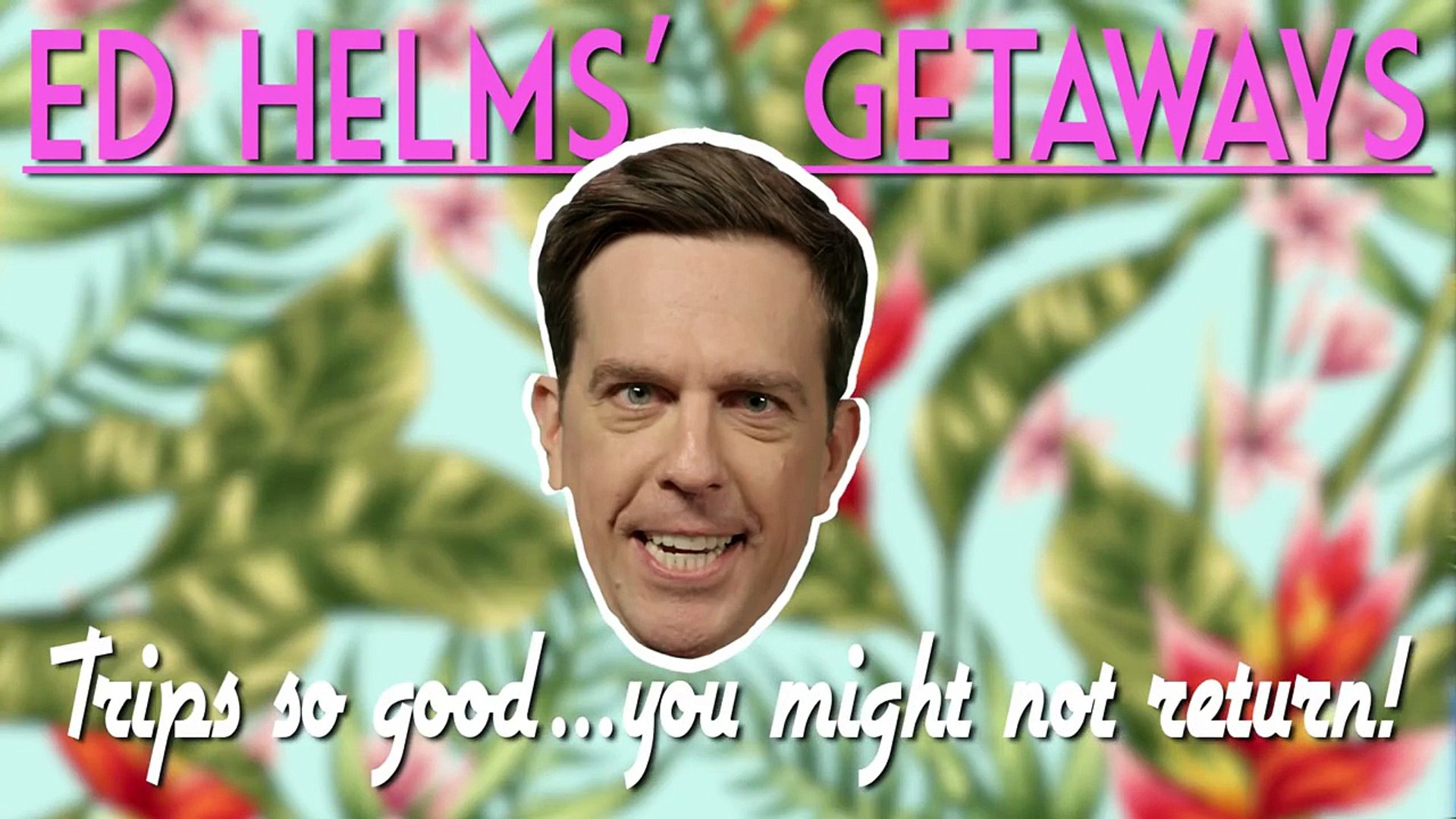 Ed Helms is the World's Shadiest Travel Agent | After Hours | MTV News