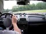 smart roadster circuit des ecuyers 2 (Vs Ferrari F430 scuderia)
