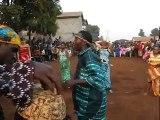 Guinea dance lesson finale: Fode Bangoura dundunba in Conakry
