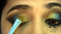 Exotic Arabic Makeup Tutorial    Princess Jasmine Makeup ماكياج العربي