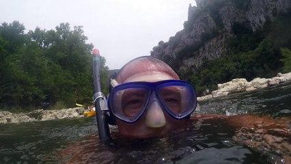 natation sur Vallon pont d arc 2015