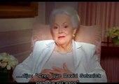 """Olivia de Havilland recuerda como logró su papel en """"Lo que el viento se llevó"""" (Gone with the Wind)"""