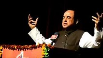 What an Amazing Exampal given by Dr. Subramanian Swamy !!  HATS  OFF