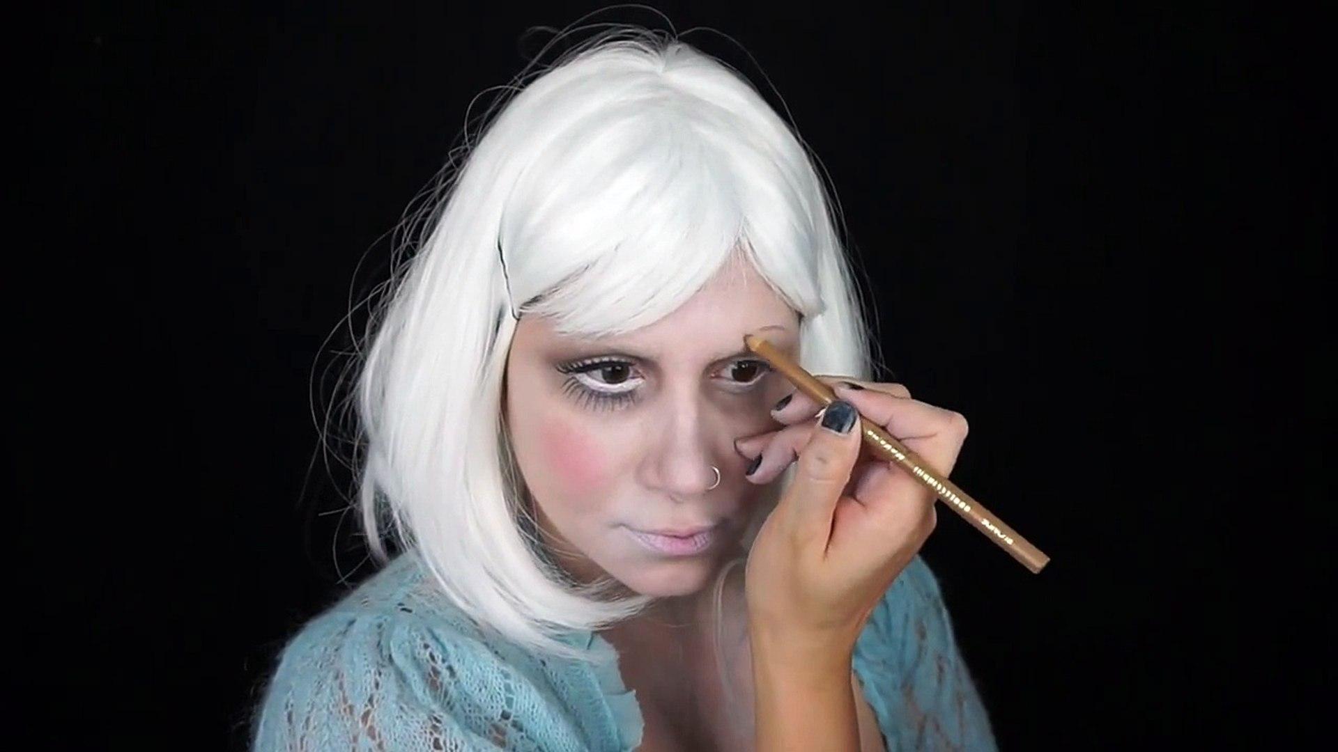 Broken China Doll Makeup Tutorial Face Painting Video Dailymotion