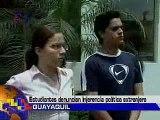 manos blancas ecuador...impulsados por oposicion venezolana