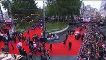the dark knight rises european premiere part 8 ( Christopher Nolan, Joseph Gordon-Levitt interview)