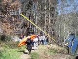 Festival Extremo - rampa de saltos kayak
