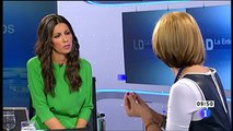 Rosa Díez - Los Desayunos de TVE - 4.Mayo.2012  (1/2)