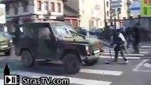 OTAN 2009 - Emeutes et arrestations au Neuhof, sud de Strasbourg - NATO Summit Battle France