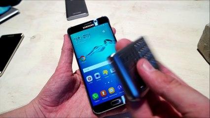 Samsung Galaxy S6 edge Plus Keyboard Cover deutsch (hands on)