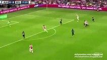 1-0 Arkadiusz Milik Great Goal _ Ajax Amsterdam v. Willem II - Eredivisie 15.08.2015 HD