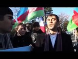 Protest action of Azeri youth against Euronews 3/4
