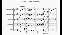 Back to the Future Brass Quintett