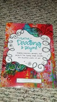BOOK REVIEW:  Creative Doodling & Beyond-Inspiring exercises by Stephanie Corfee