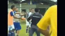 Las peleas mas brutales del Fútbol HD | Peleas en los Deportes